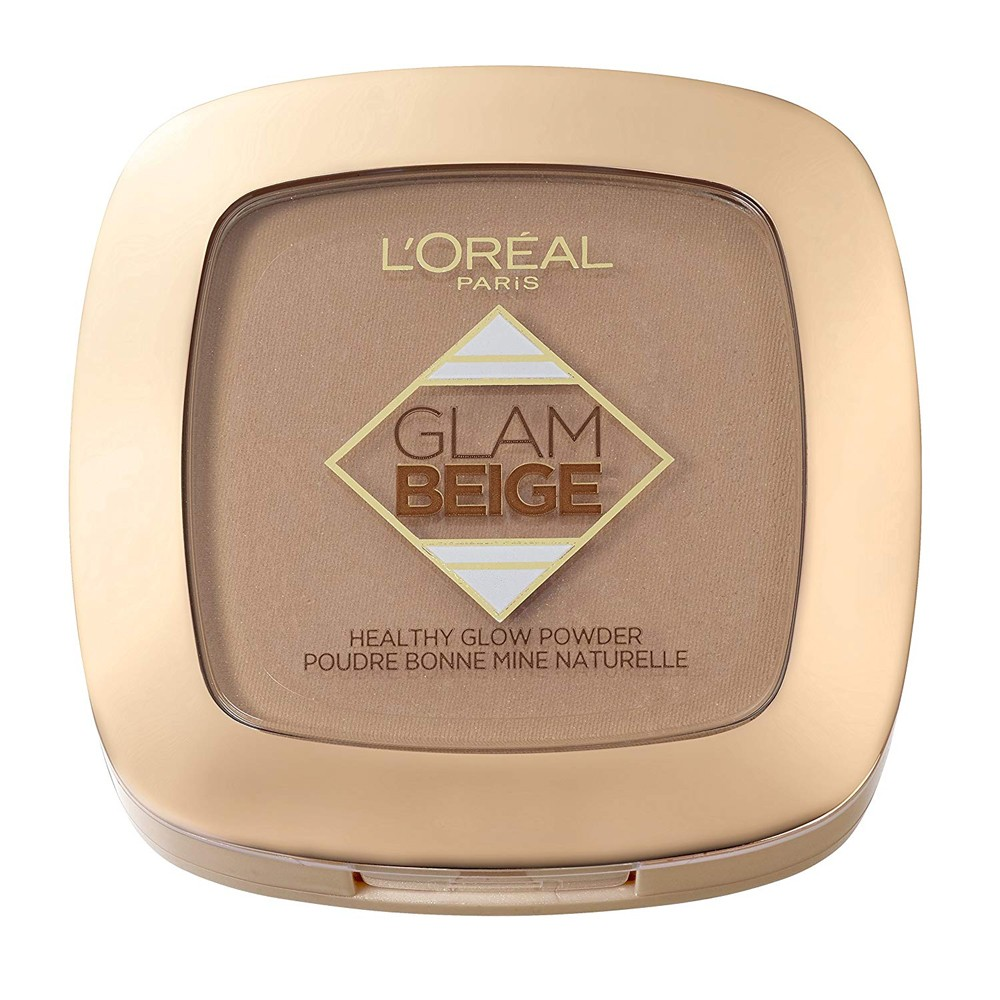 L'OREAL Glam Beige Cipria Naturale Matte n.40 Medium Dark by L'OREAL  3600523372232