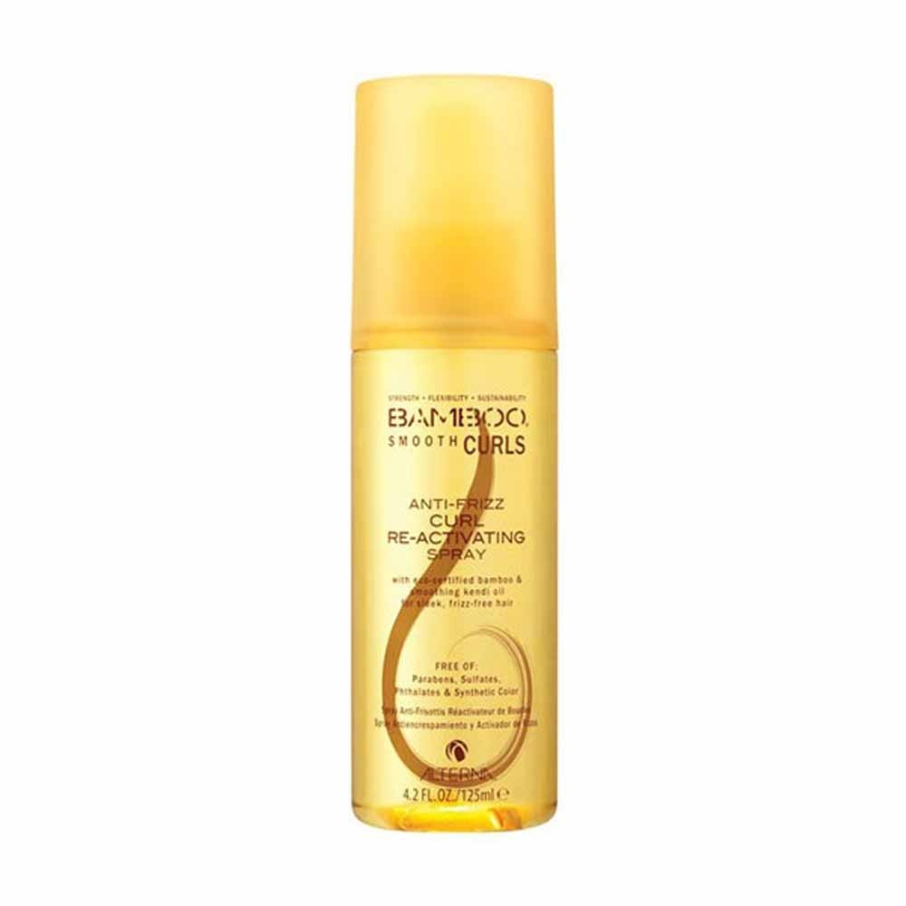 ALTERNA BAMBOO Smooth Curls Anti-Frizz Curl Re-Activating Spray 125ml by ALTERNA  873509022794