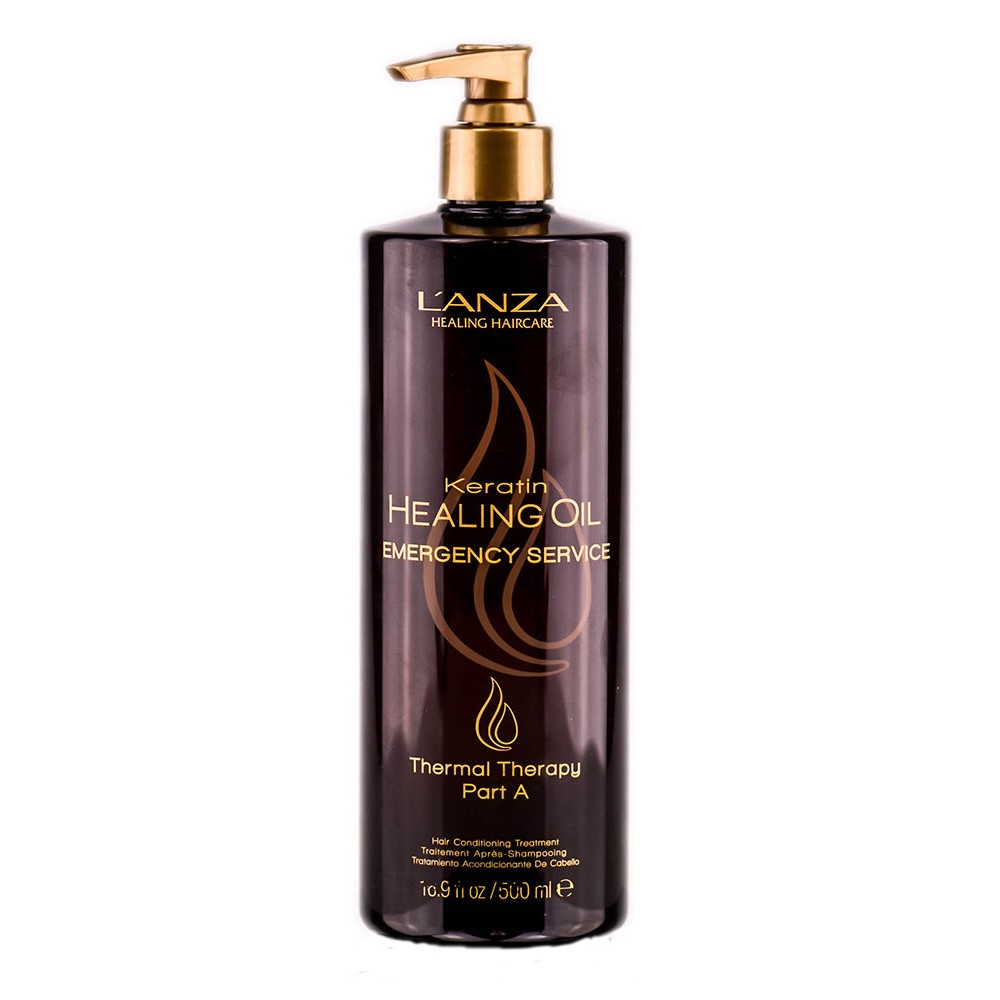 L'ANZA Keratin Healing Oil Emergency Service Thermal Therapy A 500 ml by L'ANZA  654050290173