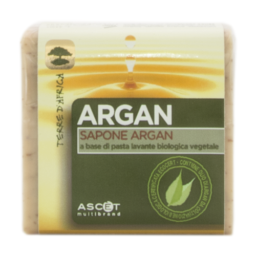 TERRE D'AFRICA Sapone All' Olio di Argan 100gr by ASCET  8055349350868