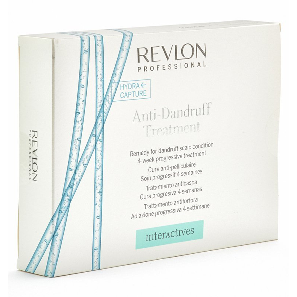 REVLON PROFESSIONAL Interactives Anti-Dandruff Treatment 4x18ml by REVLON PROFESSIONAL  8432225999685