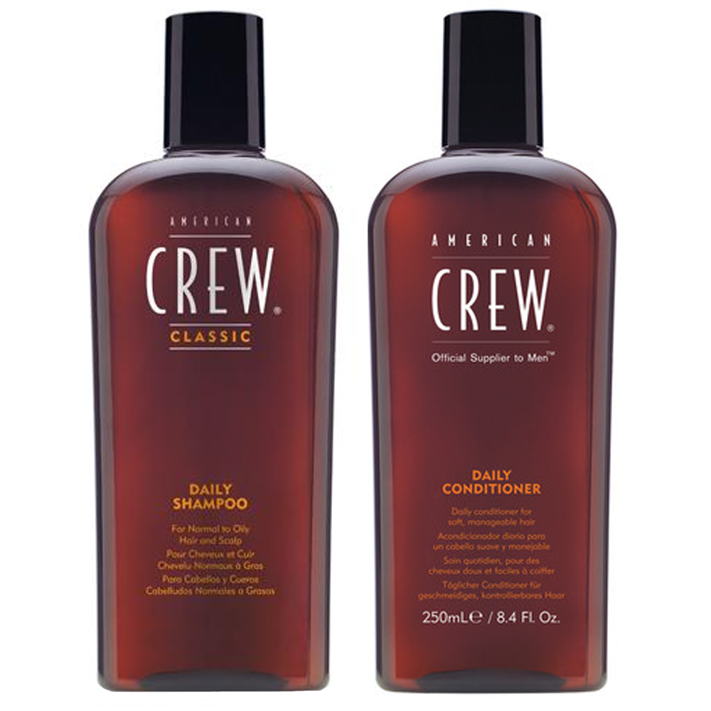 AMERICAN CREW Kit Daily Shampoo 250ml + Daily Conditioner 250ml
