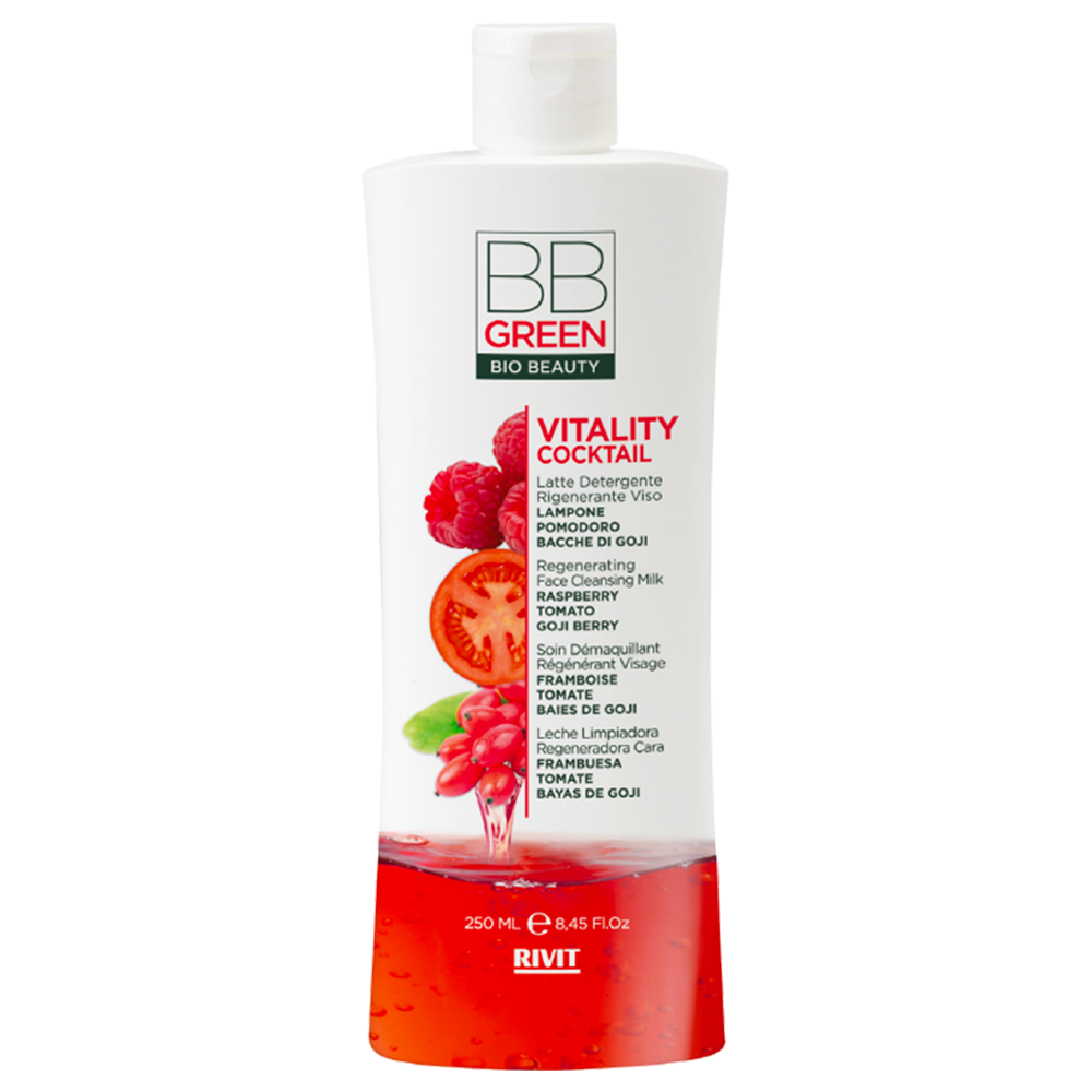 BB GREEN Vitality Latte Detergente Viso 250ml