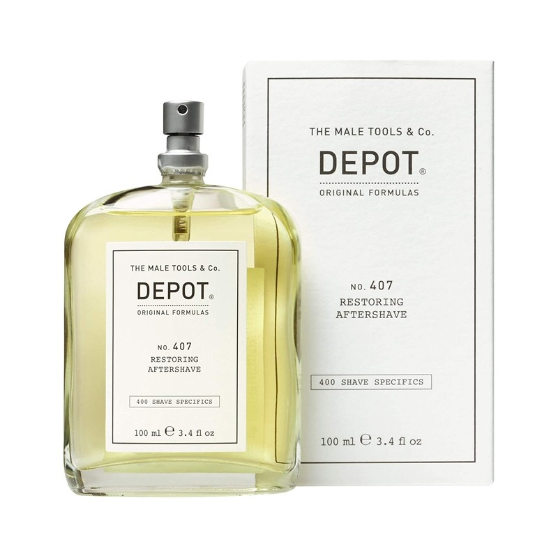 DEPOT no.407 Restoring Aftershave 100ml