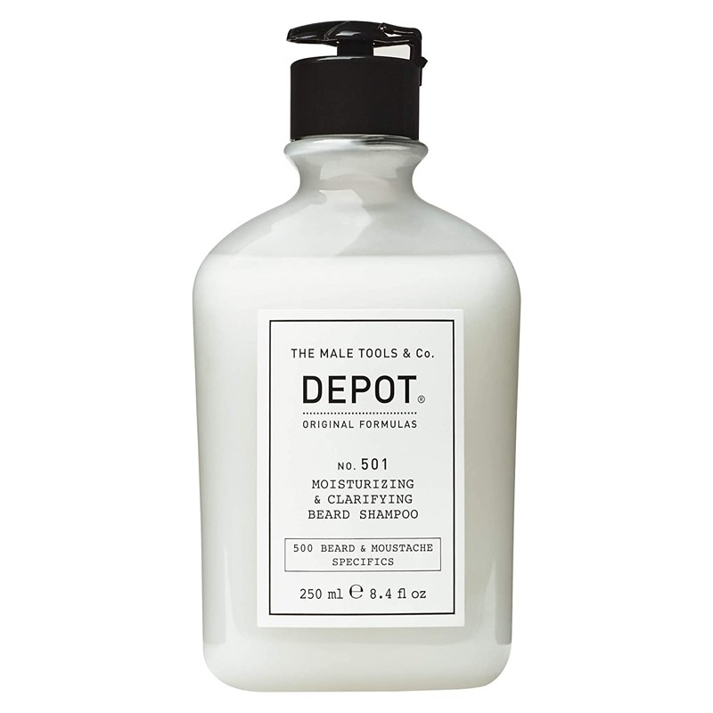DEPOT no.501 Moisturizing & Clarifying Beard Shampoo 250ml