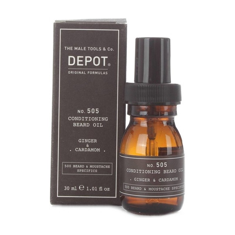 DEPOT no.505 Conditioning Oil 30ml - Ginger & Cardamon