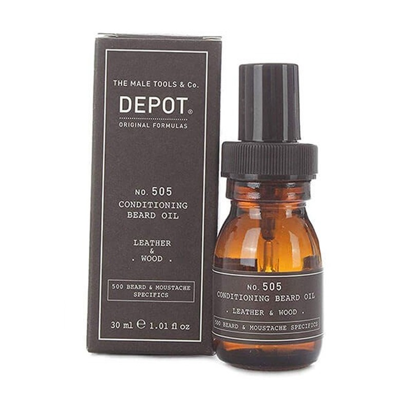 DEPOT no.505 Conditioning Oil 30ml - Leather & Wood