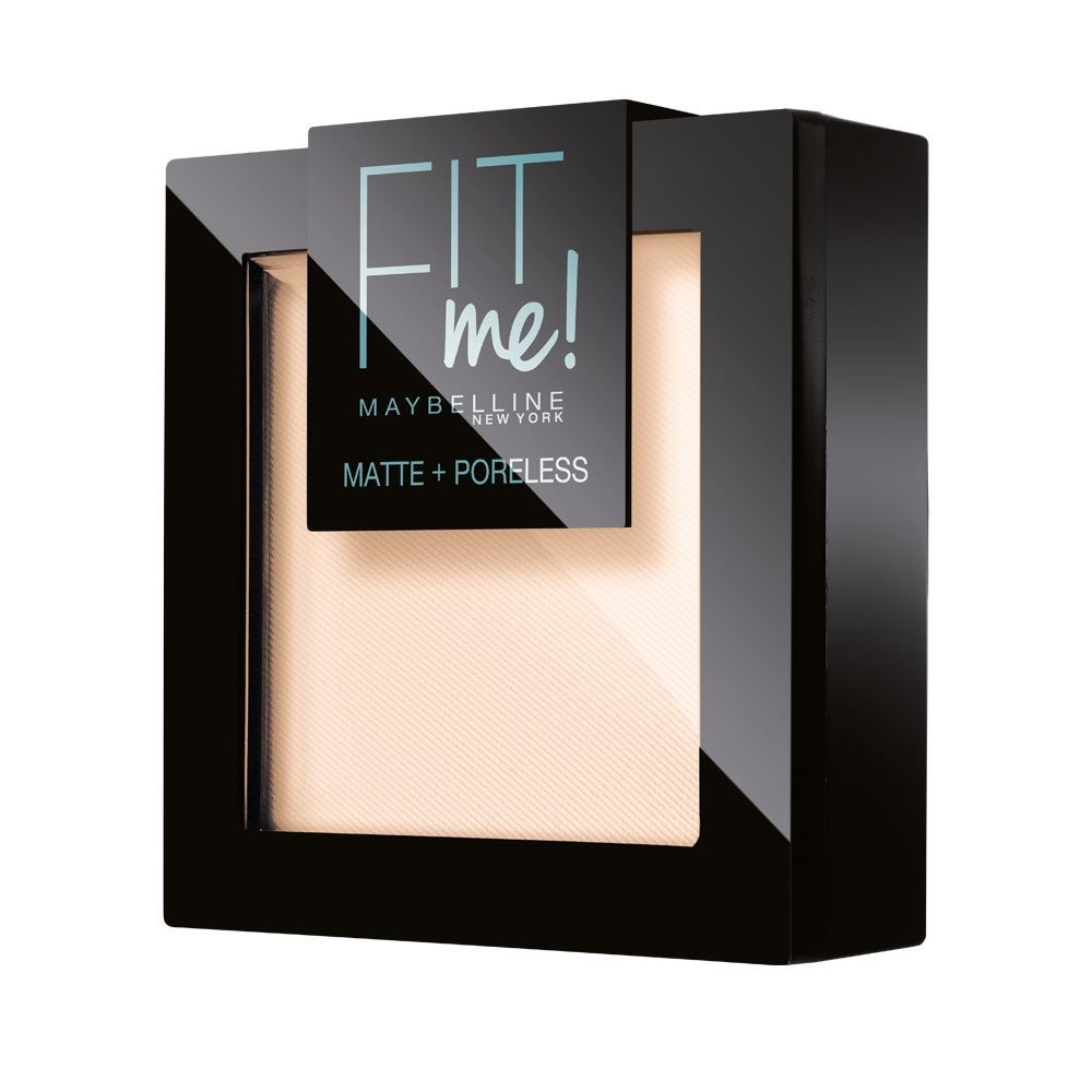 MAYBELLINE NEW YORK Fit Me Cipria n.100s Light