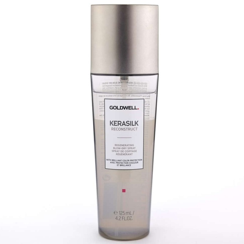 GOLDWELL KERASILK Reconstruct Blow Dry Spray 125ml