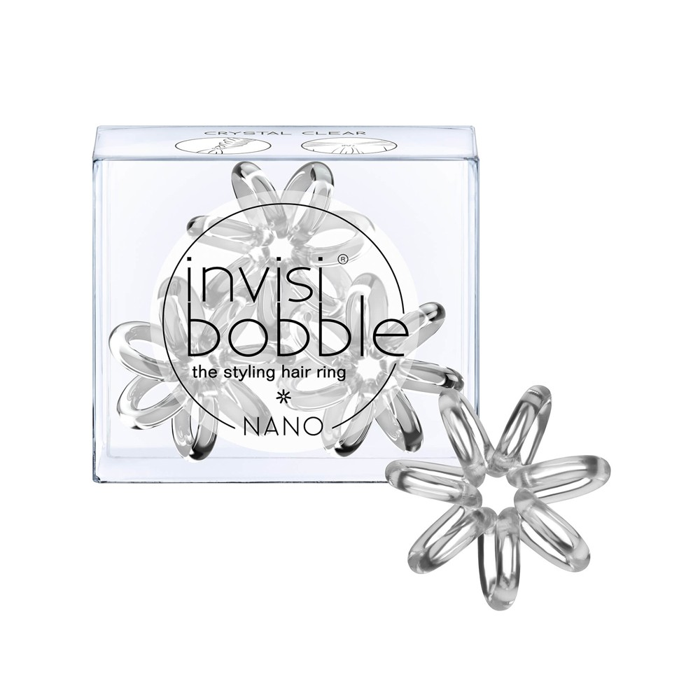INVISIBOBBLE Nano Crystal Clear 3pz