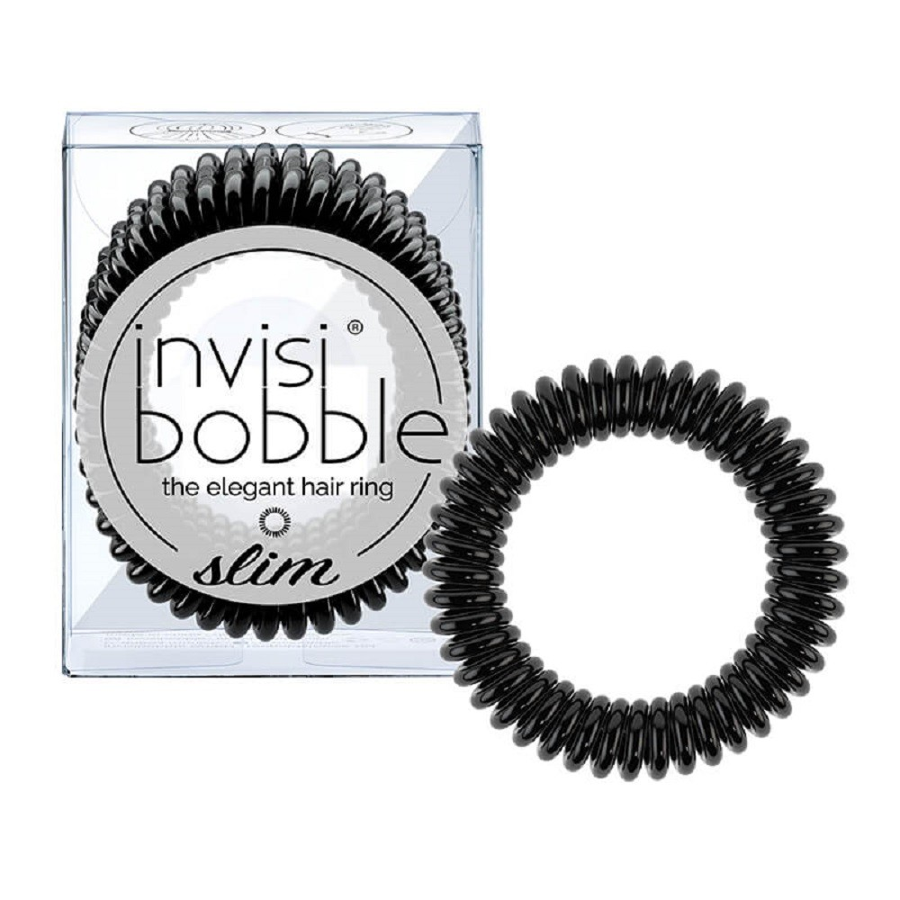 INVISIBOBBLE Slim Black 3pz