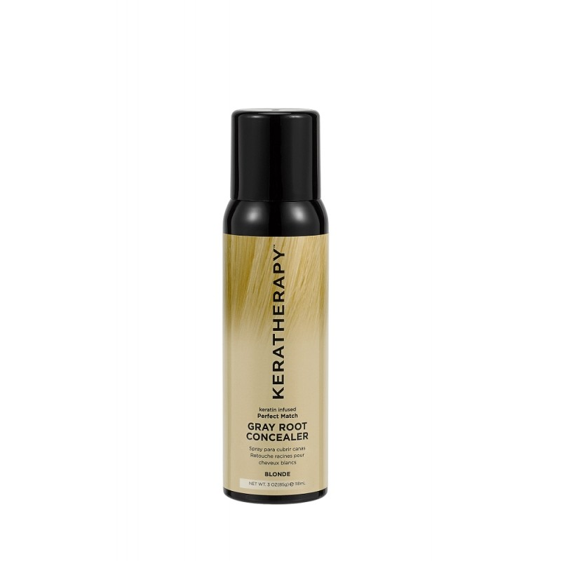 KERATHERAPY Keratin Infused Gray Root Concealer 118ml - Blonde