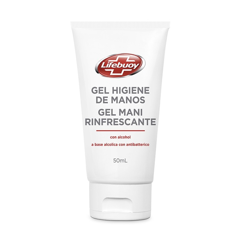 LIFEBUOY Gel Mani Rinfrescante a Base Alcolica 50ml