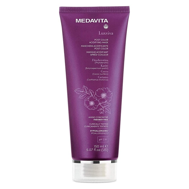 MEDAVITA Maschera Acidificante Post Colore 150ml
