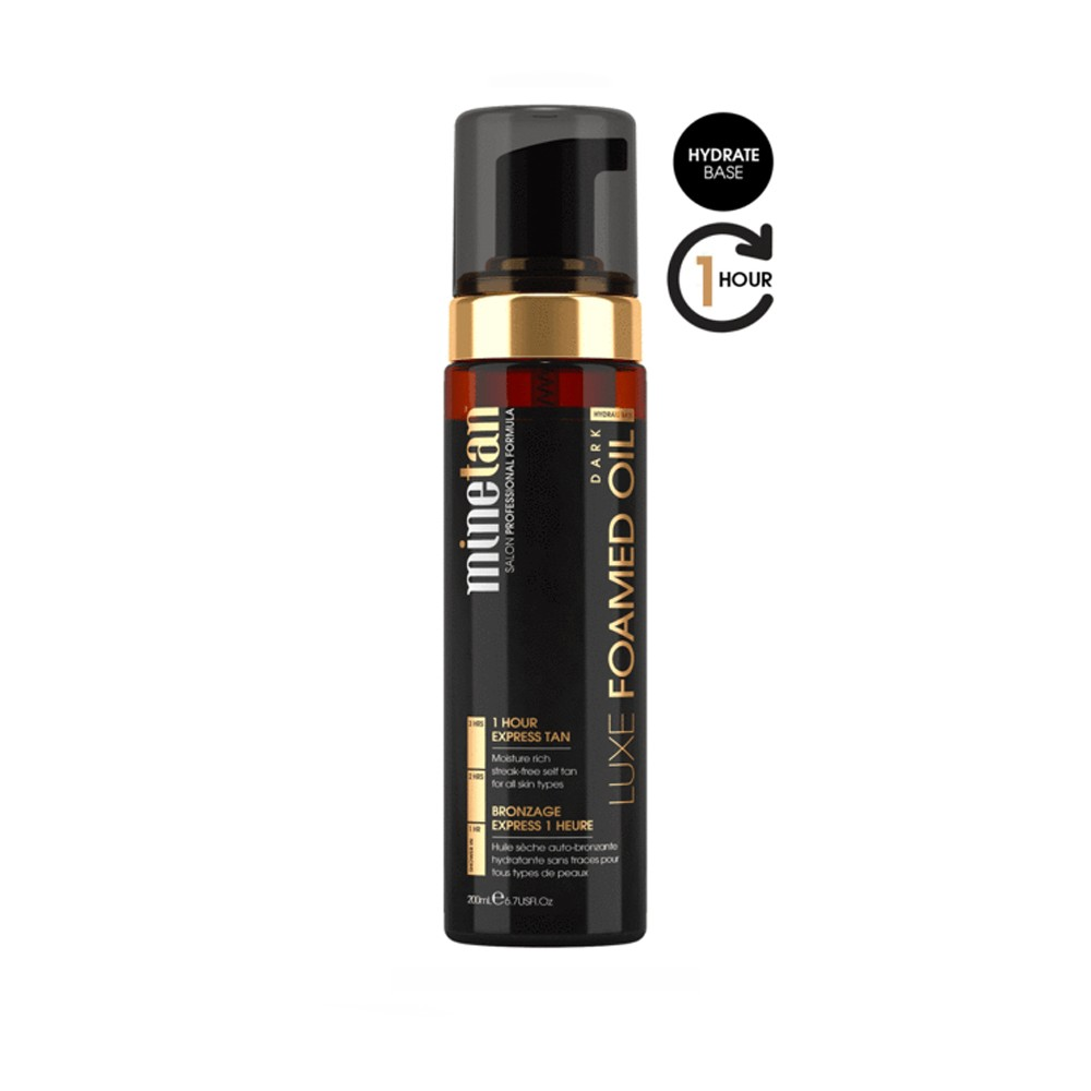 MINETAN Mousse Autoabbronzante Luxe Oil Dark 200ml