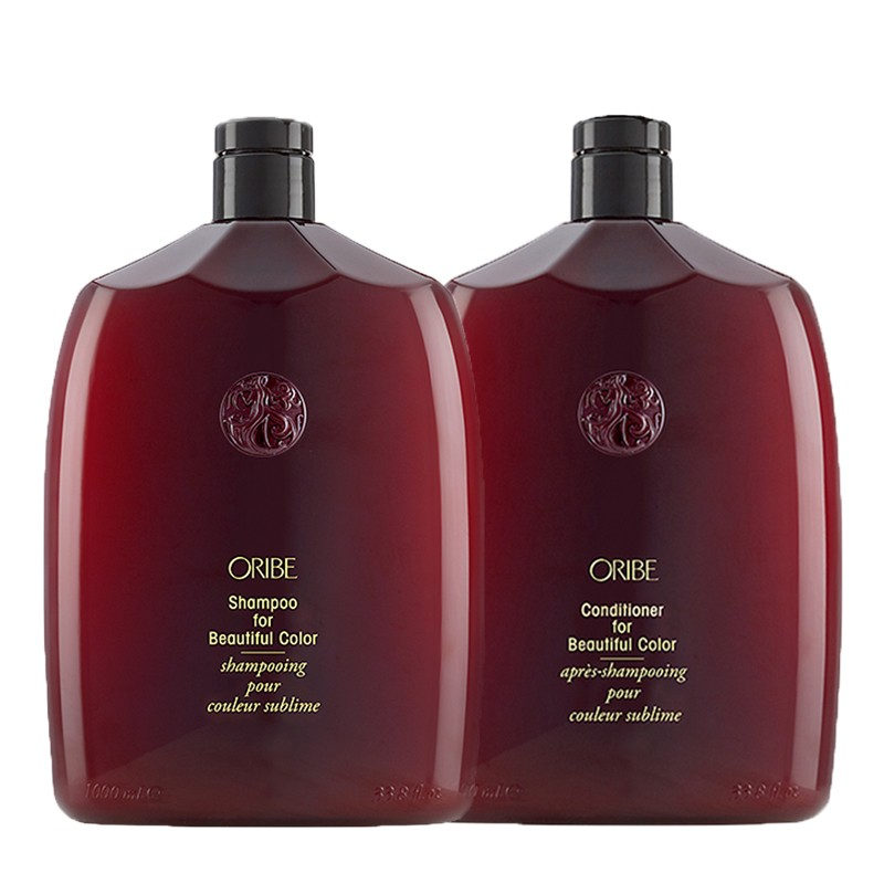 ORIBE Kit Shampoo for Beautiful Color 1000ml + Conditioner 1000ml
