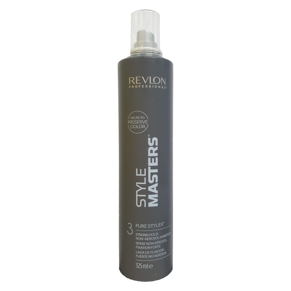 REVLON Style Masters Hairspray Pure Styler 3 325ml Fissaggio Forte