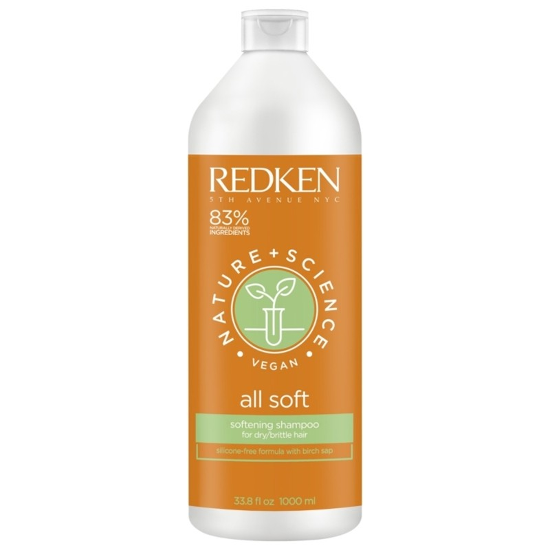REDKEN Nature + Science All Soft Shampoo 1000ml