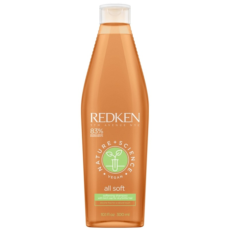 REDKEN Nature + Science All Soft Shampoo 300ml