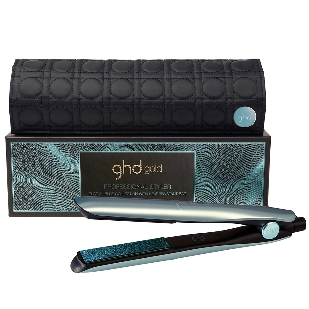 GHD Gold Glacial Blue Styler 2018