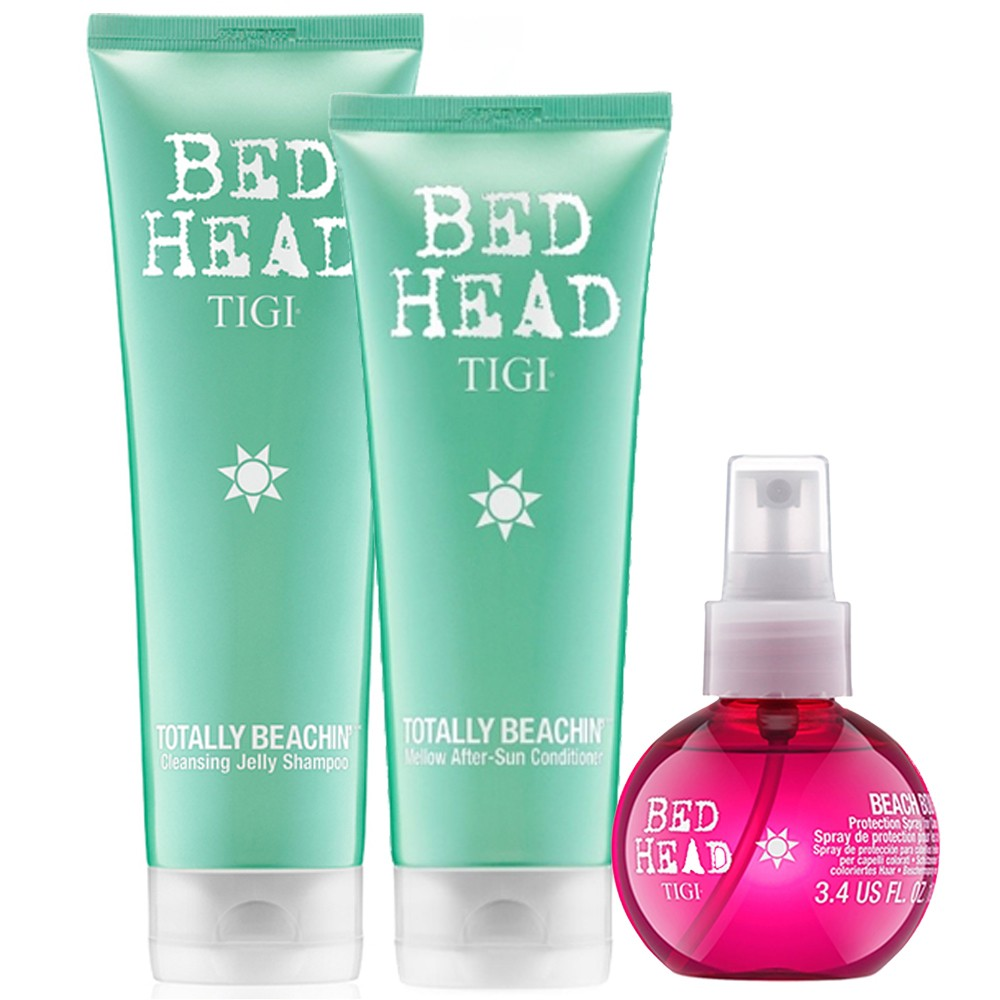 TIGI Kit Totally Beachin Shampoo 250ml + Balsamo 200ml + Beach Bound 100ml