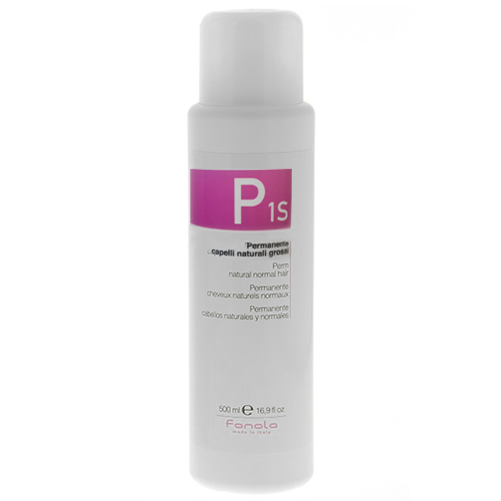 FANOLA P1S Permanente Capelli Naturali Grossi 500ml