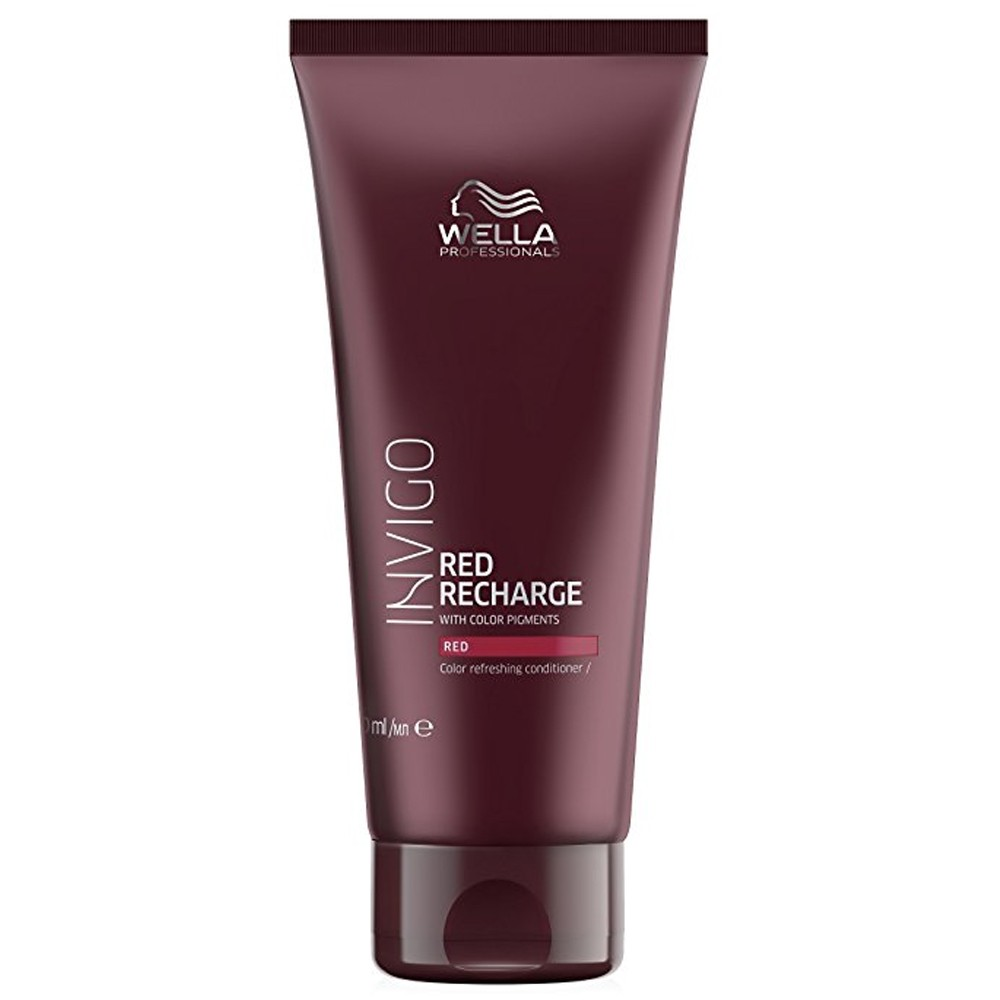 WELLA Invigo Red Recharge Color Refreshing Conditioner Red 200ml